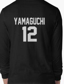 Haikyuu!! Jersey Yamaguchi Number 12 (Karasuno) Long Sleeve T-Shirt