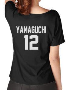 Haikyuu!! Jersey Yamaguchi Number 12 (Karasuno) Women's Relaxed Fit T-Shirt