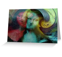Monna Lisa Greeting Card