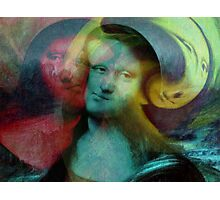 Monna Lisa Photographic Print