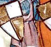 3 Medieval Knights Sticker