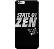 STATE OF ZEN - MMA iPhone Case/Skin