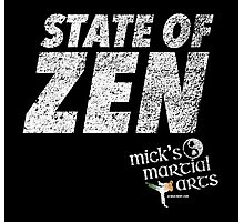 STATE OF ZEN - MMA Photographic Print