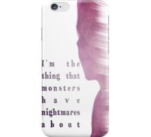 Buffy Summers - The Vampire Slayer iPhone Case/Skin