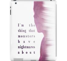 Buffy Summers - The Vampire Slayer iPad Case/Skin