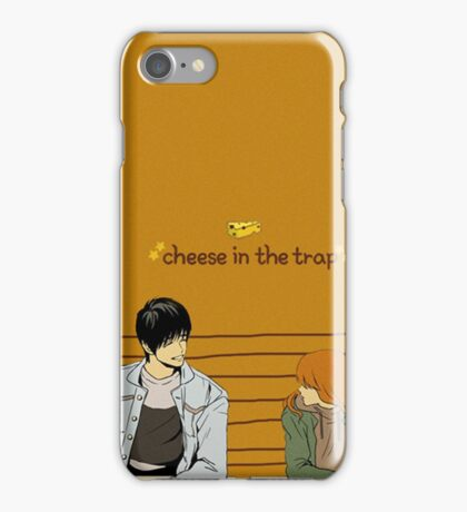 Cheese In The Trap Caricature iPhone Case/Skin