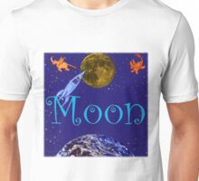 Flight to the Moon Unisex T-Shirt