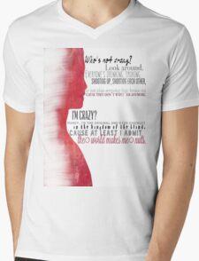 """Glorificus """"Glory"""" Mens V-Neck T-Shirt"""