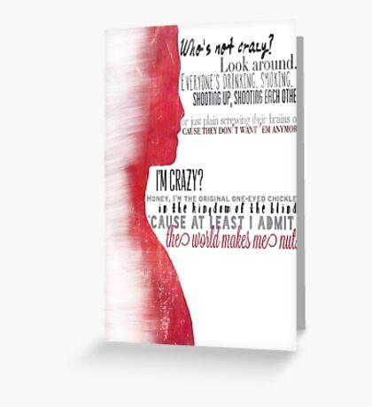 "Glorificus ""Glory"" Greeting Card"