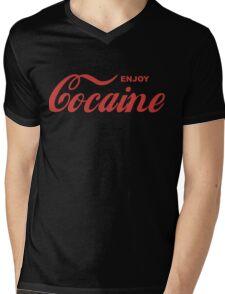cocaine Mens V-Neck T-Shirt