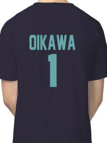 Haikyuu!! Oikawa Jersey Number 1 (Aoba) Classic T-Shirt