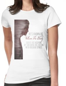 """William """"The Bloody"""" Pratt - Spike - Womens Fitted T-Shirt"""