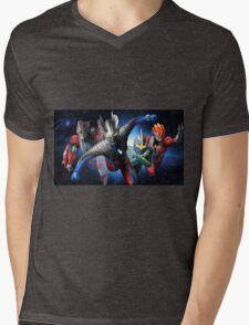Ultraman Full Mens V-Neck T-Shirt