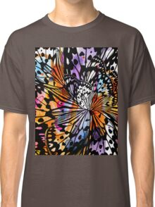 orange butterfly abstract Classic T-Shirt