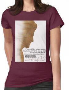 Angelus  Womens Fitted T-Shirt