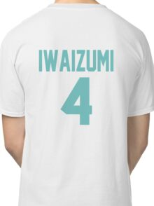 Haikyuu!! Iwaizumi Jersey Number 4 (Aoba) Classic T-Shirt