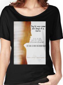 """Alexander """"Xander"""" Harris Women's Relaxed Fit T-Shirt"""