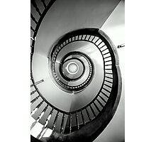Steelworks staircase Photographic Print