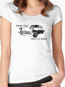 Going Fast Sure's a Blast Women's Fitted Scoop T-Shirt