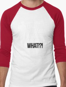 LANAAAAAAA!?!... Danger Zone! (Alternative) Men's Baseball ¾ T-Shirt