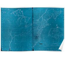 American Revolutionary War Era Maps 1750-1786 947 The United States according to the definitive treaty of peace signed at Paris Sept 3d 1783 Inverted Poster