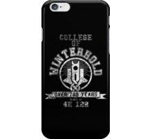 College of Winterhold - Skyrim - College Jersey iPhone Case/Skin