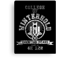 College of Winterhold - Skyrim - College Jersey Canvas Print