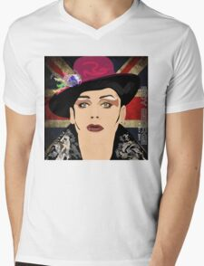 BOY GEORGE  Mens V-Neck T-Shirt
