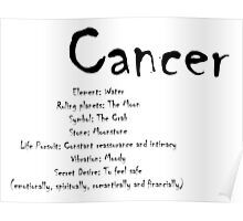 Cancer Traits Poster