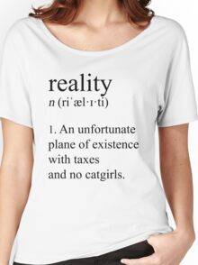Well adjusted adult. (Lightmode) Women's Relaxed Fit T-Shirt