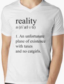 Well adjusted adult. (Lightmode) Mens V-Neck T-Shirt