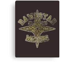 Dawnstar Miners - Skyrim - Football Jersey Canvas Print