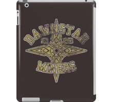 Dawnstar Miners - Skyrim - Football Jersey iPad Case/Skin