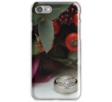 Wedding rings iPhone Case/Skin