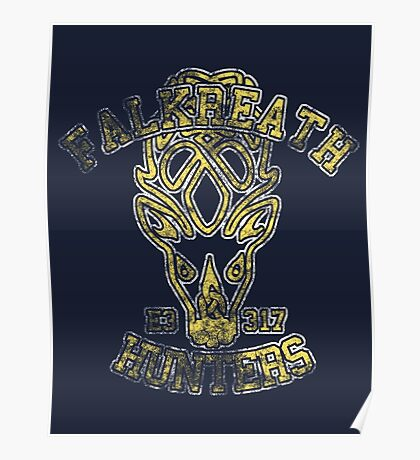 Falkreath Hunters - Skyrim - Football Jersey Poster