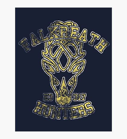 Falkreath Hunters - Skyrim - Football Jersey Photographic Print