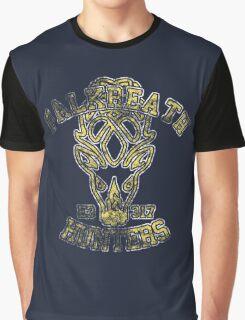 Falkreath Hunters - Skyrim - Football Jersey Graphic T-Shirt