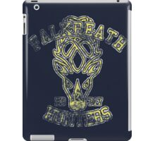 Falkreath Hunters - Skyrim - Football Jersey iPad Case/Skin