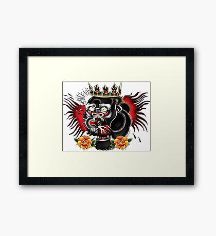 Conor McGregor, Notorious Gorilla Framed Print