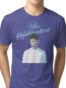 Blue Neighborhood Lyrics  Tri-blend T-Shirt