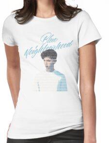 Blue Neighborhood Lyrics  Womens Fitted T-Shirt
