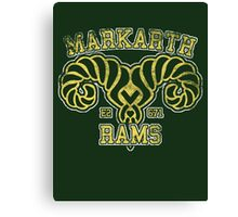 Markarth Rams - Skyrim - Football Jersey Canvas Print