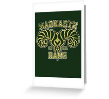 Markarth Rams - Skyrim - Football Jersey Greeting Card