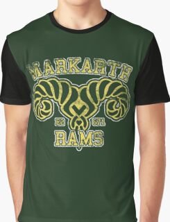 Markarth Rams - Skyrim - Football Jersey Graphic T-Shirt