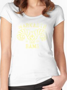 Markarth Rams - Skyrim - Football Jersey Women's Fitted Scoop T-Shirt