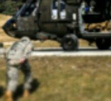 Army Evac! Sticker