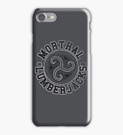 Morthal Lumberjacks - Skyrim - Football Jersey iPhone Case/Skin