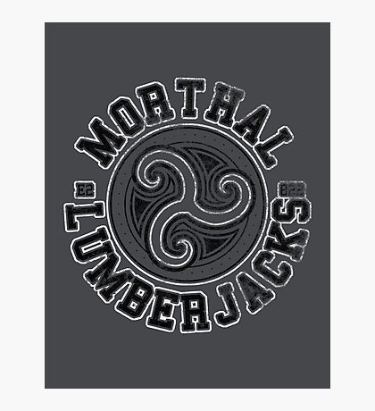 Morthal Lumberjacks - Skyrim - Football Jersey Photographic Print