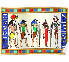 Ancient Egyptian Gods Poster
