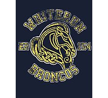 Whiterun Broncos - Skyrim - Football Jersey Photographic Print
